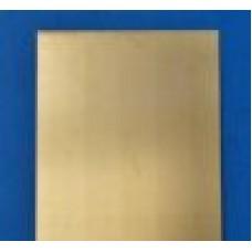 Blacha mosiężna 1,0x640-670x350 mm